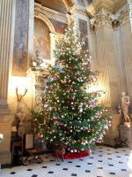 XMas tree in the great hall